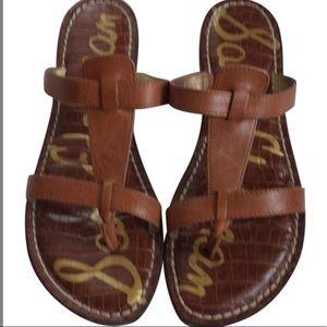Sam Edelman   Brown Leather 'Kira' Sandal